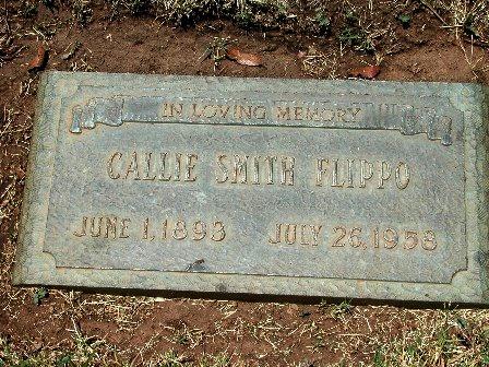 FLIPPO, CALLIE - Taylor County, Texas | CALLIE FLIPPO - Texas Gravestone Photos