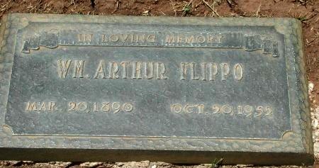 FLIPPO, WILLIAM ARTHUR - Taylor County, Texas   WILLIAM ARTHUR FLIPPO - Texas Gravestone Photos