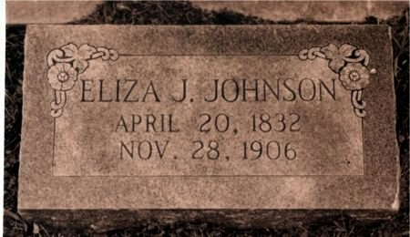 JOHNSON, ELIZA J. - Taylor County, Texas | ELIZA J. JOHNSON - Texas Gravestone Photos
