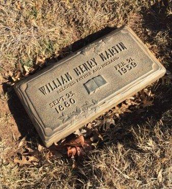 MARTIN, WILLIAM HENRY - Taylor County, Texas | WILLIAM HENRY MARTIN - Texas Gravestone Photos
