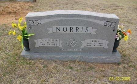 NORRIS, LEOLA - Taylor County, Texas | LEOLA NORRIS - Texas Gravestone Photos