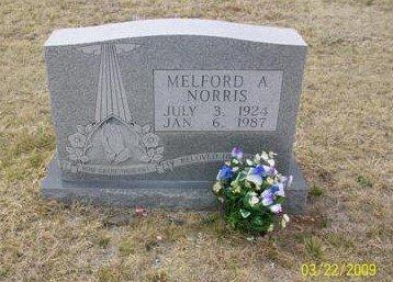 NORRIS, MELFORD A. - Taylor County, Texas | MELFORD A. NORRIS - Texas Gravestone Photos