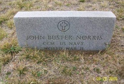 NORRIS (VETERAN WWII), JOHN BUSTER - Taylor County, Texas | JOHN BUSTER NORRIS (VETERAN WWII) - Texas Gravestone Photos