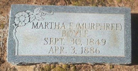 MURPHREE BOYLE, MARTHA E - Titus County, Texas | MARTHA E MURPHREE BOYLE - Texas Gravestone Photos