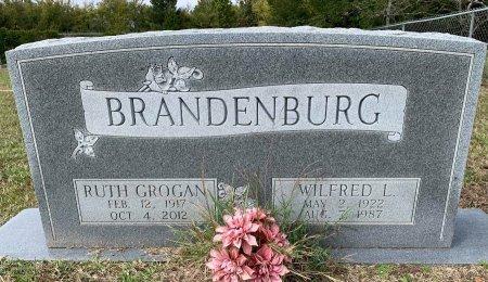 GROGAN BRANDENBURG, RUTH - Titus County, Texas | RUTH GROGAN BRANDENBURG - Texas Gravestone Photos
