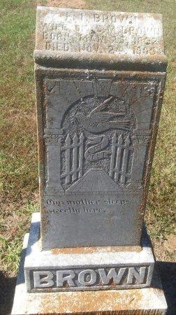 WOMACK BROWN, F I - Titus County, Texas   F I WOMACK BROWN - Texas Gravestone Photos