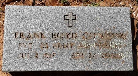 CONNOR (VETERAN), FRANK BOYD - Titus County, Texas | FRANK BOYD CONNOR (VETERAN) - Texas Gravestone Photos