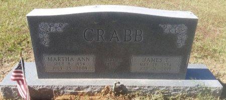 CRABB, MARTHA ANN - Titus County, Texas | MARTHA ANN CRABB - Texas Gravestone Photos
