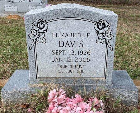 DAVIS, ELIZABETH F - Titus County, Texas | ELIZABETH F DAVIS - Texas Gravestone Photos