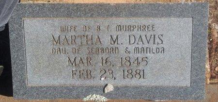 DAVIS, MARTHA M - Titus County, Texas | MARTHA M DAVIS - Texas Gravestone Photos