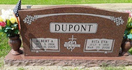 BOULANGER DUPONT, RITA EVA - Titus County, Texas | RITA EVA BOULANGER DUPONT - Texas Gravestone Photos