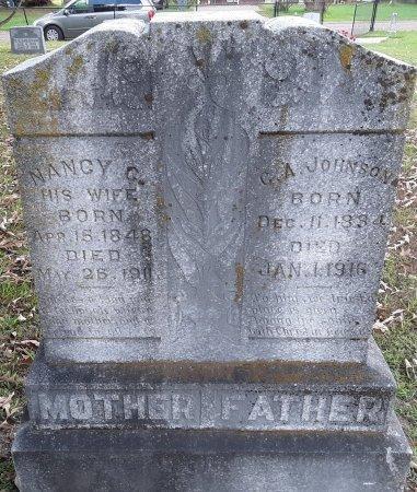 HARRIS JOHNSON, NANCY C - Titus County, Texas   NANCY C HARRIS JOHNSON - Texas Gravestone Photos
