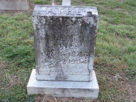 JONES, ALBERT S - Titus County, Texas | ALBERT S JONES - Texas Gravestone Photos
