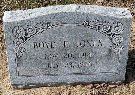JONES, BOYD E - Titus County, Texas | BOYD E JONES - Texas Gravestone Photos