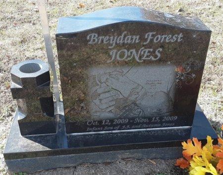 JONES, BREYDAN FOREST - Titus County, Texas | BREYDAN FOREST JONES - Texas Gravestone Photos