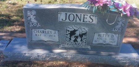 JONES, BETTY D - Titus County, Texas | BETTY D JONES - Texas Gravestone Photos