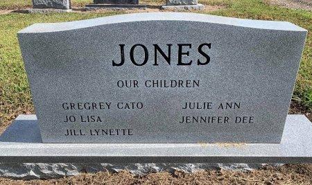 JONES, CATO WIMS (BACKVIEW) - Titus County, Texas | CATO WIMS (BACKVIEW) JONES - Texas Gravestone Photos