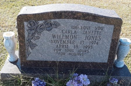 JONES, CARLA JANETTE - Titus County, Texas   CARLA JANETTE JONES - Texas Gravestone Photos