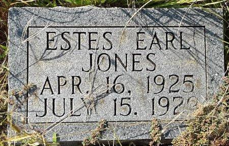 JONES, ESTES EARL - Titus County, Texas | ESTES EARL JONES - Texas Gravestone Photos
