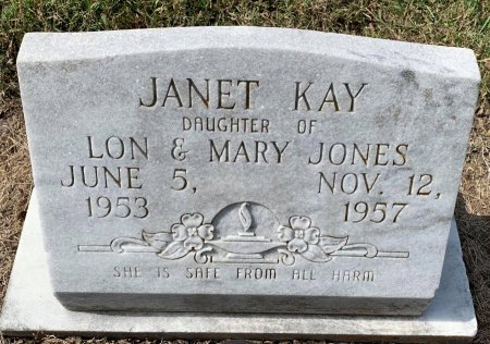 JONES, JANET KAY - Titus County, Texas | JANET KAY JONES - Texas Gravestone Photos