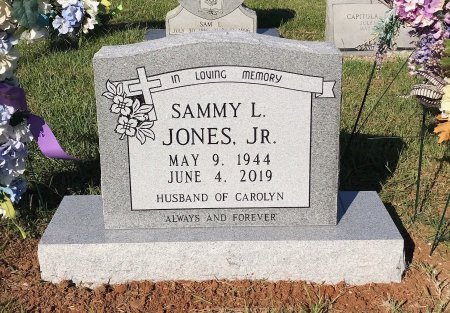 JONES, JR, SAMMY L. - Titus County, Texas | SAMMY L. JONES, JR - Texas Gravestone Photos