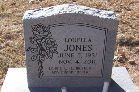 JONES, LOUELLA - Titus County, Texas   LOUELLA JONES - Texas Gravestone Photos