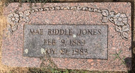 JONES, MAE - Titus County, Texas   MAE JONES - Texas Gravestone Photos