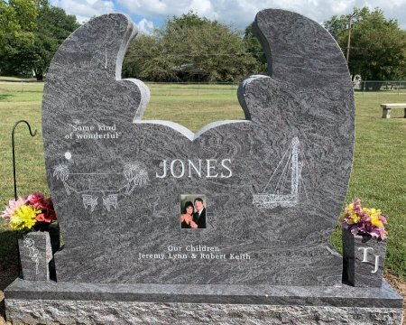 JONES, PATTY ANN (BACK VIEW) - Titus County, Texas | PATTY ANN (BACK VIEW) JONES - Texas Gravestone Photos