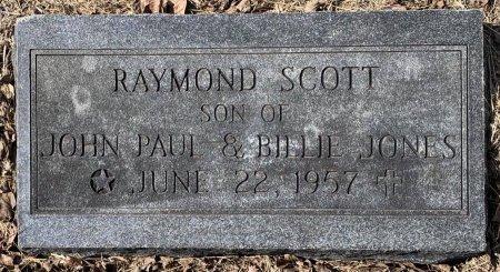 JONES, RAYMOND SCOTT - Titus County, Texas   RAYMOND SCOTT JONES - Texas Gravestone Photos