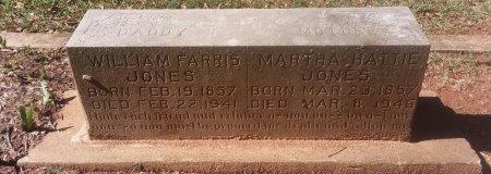 JONES, MARTHA HATTIE - Titus County, Texas   MARTHA HATTIE JONES - Texas Gravestone Photos