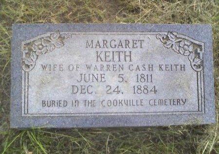 KEITH, MARGARET - Titus County, Texas | MARGARET KEITH - Texas Gravestone Photos