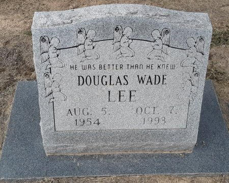 LEE, DOUGLAS WADE - Titus County, Texas | DOUGLAS WADE LEE - Texas Gravestone Photos