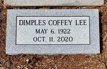 LEE, DIMPLES - Titus County, Texas | DIMPLES LEE - Texas Gravestone Photos