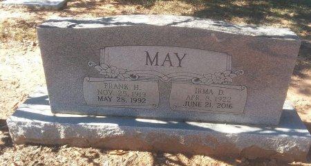 MAY, FRANK H - Titus County, Texas | FRANK H MAY - Texas Gravestone Photos
