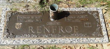 RENFROE, M.D., THOMAS W. - Titus County, Texas   THOMAS W. RENFROE, M.D. - Texas Gravestone Photos
