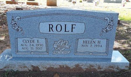 ROLF, CLYDE E - Titus County, Texas | CLYDE E ROLF - Texas Gravestone Photos