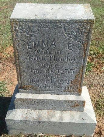 THACKER, EMMA E - Titus County, Texas   EMMA E THACKER - Texas Gravestone Photos