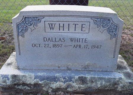 WHITE, DALLAS - Titus County, Texas | DALLAS WHITE - Texas Gravestone Photos