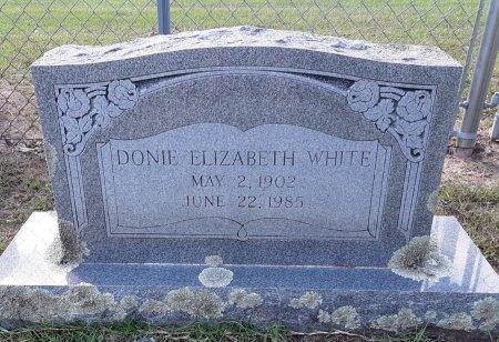 WHITE, DONIE ELIZABETH - Titus County, Texas | DONIE ELIZABETH WHITE - Texas Gravestone Photos