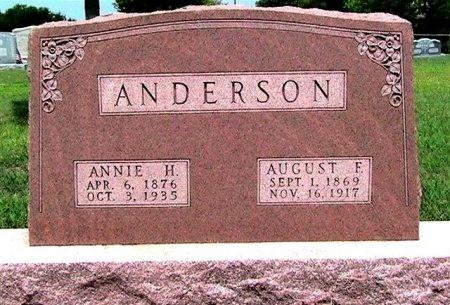 ANDERSON, HELEN ANNIE - Travis County, Texas | HELEN ANNIE ANDERSON - Texas Gravestone Photos