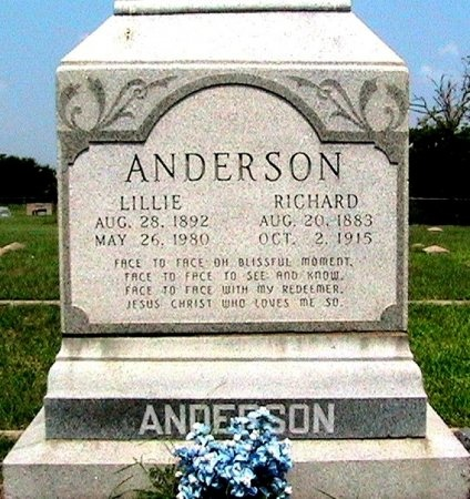 ANDERSON, RICHARD - Travis County, Texas | RICHARD ANDERSON - Texas Gravestone Photos