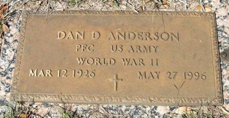 ANDERSON (VETERAN WWII), DAN D - Travis County, Texas | DAN D ANDERSON (VETERAN WWII) - Texas Gravestone Photos