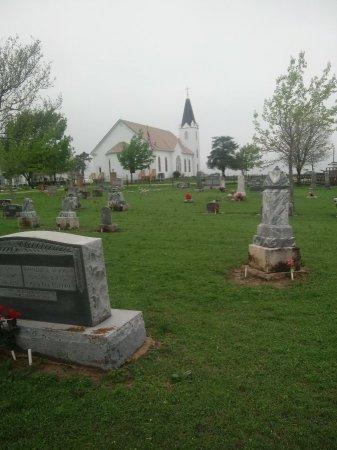 *CEMETERY & CHURCH VIEW,  - Travis County, Texas |  *CEMETERY & CHURCH VIEW - Texas Gravestone Photos