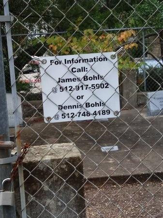 *CEMETERY INFORMATION,  - Travis County, Texas |  *CEMETERY INFORMATION - Texas Gravestone Photos