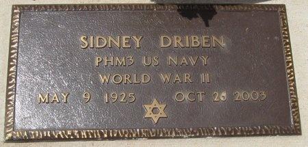 DRIBEN (VETERAN WWII), SIDNEY - Travis County, Texas | SIDNEY DRIBEN (VETERAN WWII) - Texas Gravestone Photos