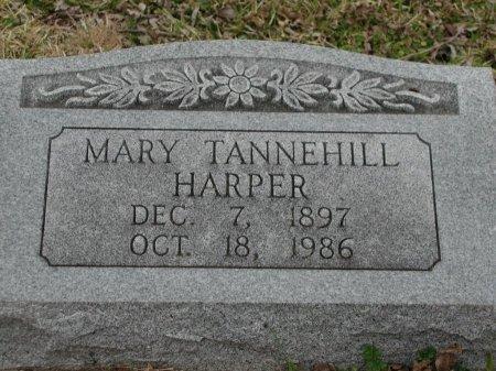 TANNEHILL HARPER, MARY - Travis County, Texas   MARY TANNEHILL HARPER - Texas Gravestone Photos