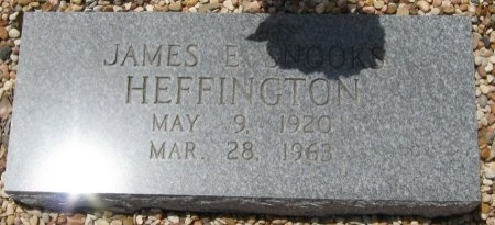 "HEFFINGTON, JAMES E. ""SNOOKS"" - Travis County, Texas 
