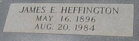 HEFFINGTON, JAMES ELIJAH - Travis County, Texas | JAMES ELIJAH HEFFINGTON - Texas Gravestone Photos