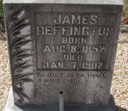 HEFFINGTON, JAMES SMITH - Travis County, Texas   JAMES SMITH HEFFINGTON - Texas Gravestone Photos