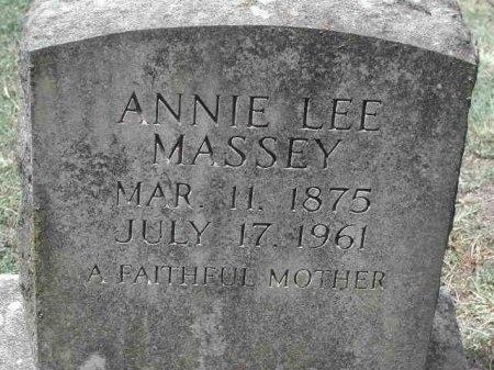 HUTCHISON MASSEY, ANNIE LEE - Travis County, Texas   ANNIE LEE HUTCHISON MASSEY - Texas Gravestone Photos